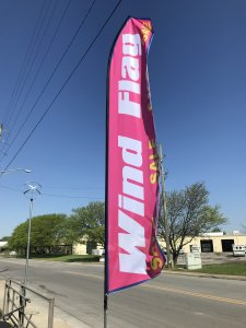 Custom Feather Flag Kit - 16 Feet